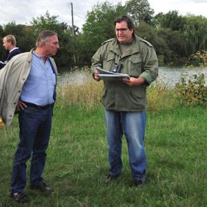 François Peintre et le sentier ornithologique de l'étang de Cepoy (Loiret)