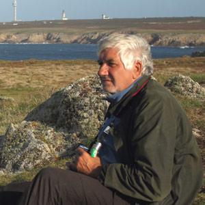 Jean-Philippe Siblet et les oiseaux d'Ouessant (Finistère)