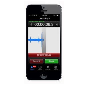 Enregistrer les sons d'oiseaux avec un smartphone
