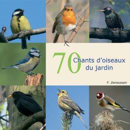 70 chants d'oiseaux du jardin (CD)