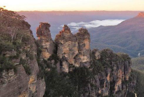 Séjour dans les Blue Mountains (Australie), le domaine de l'Origma des rochers