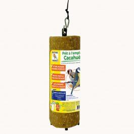 Cylindre de graisse végétale aux cacahuètes pour oiseaux (prêt à l'emploi)