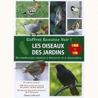 Écoutez voir ! Les oiseaux des jardins (1 DVD + 1 CD)