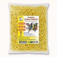 Granulés (nuggets) de graisse végétale aux insectes
