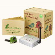 Kit vidéo pour oiseaux : caméra couleur sans fil de 6 LEDs + accessoires