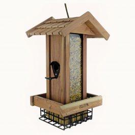 Mangeoire en bois Bistrot pour oiseaux