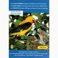 Les Oiseaux d'Europe, d'Afrique du Nord et du Moyen-Orient (MP3 CDs)