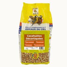 Sac de cacahuètes décortiquées pour oiseaux (2 kg)