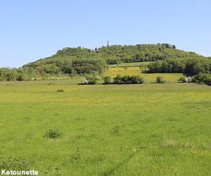 Vue de la colline de Sion-Vaudémont (Meurthe-et-Moselle)